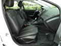 2012 White Platinum Tricoat Metallic Ford Focus Titanium Sedan  photo #21