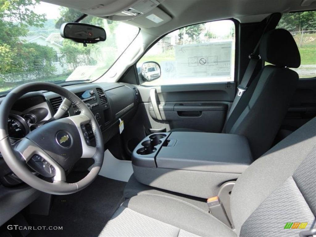 2013 Silverado 1500 LT Extended Cab - Black / Ebony photo #4