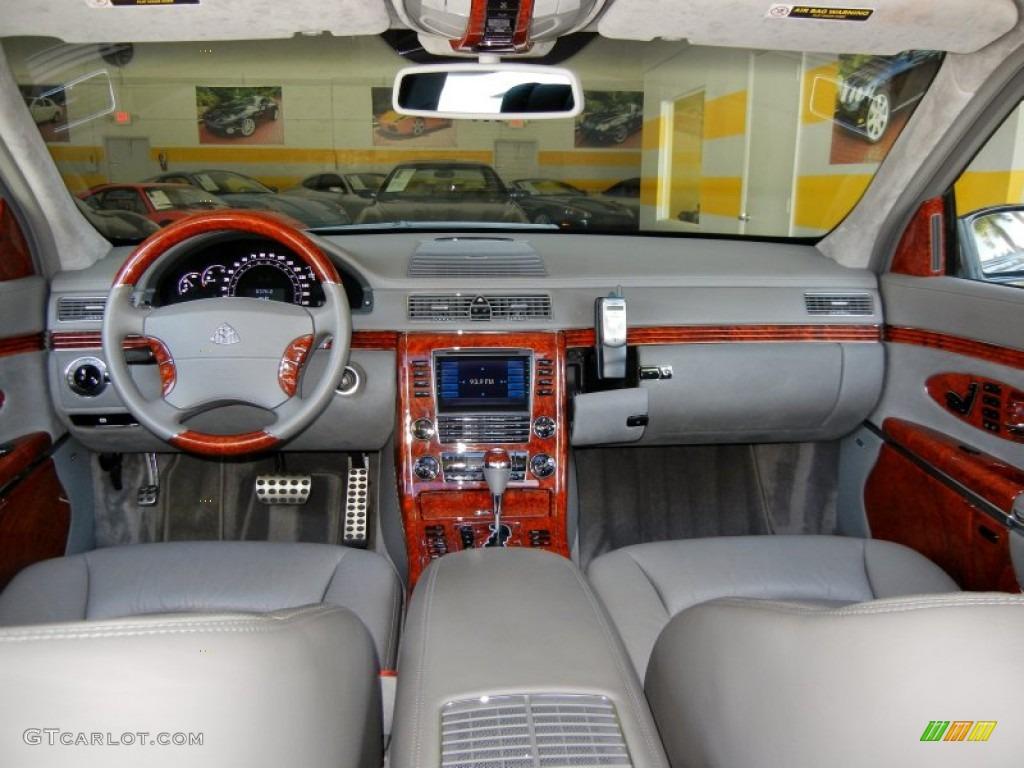 2005 maybach 57 standard 57 model gray dashboard photo 69231048
