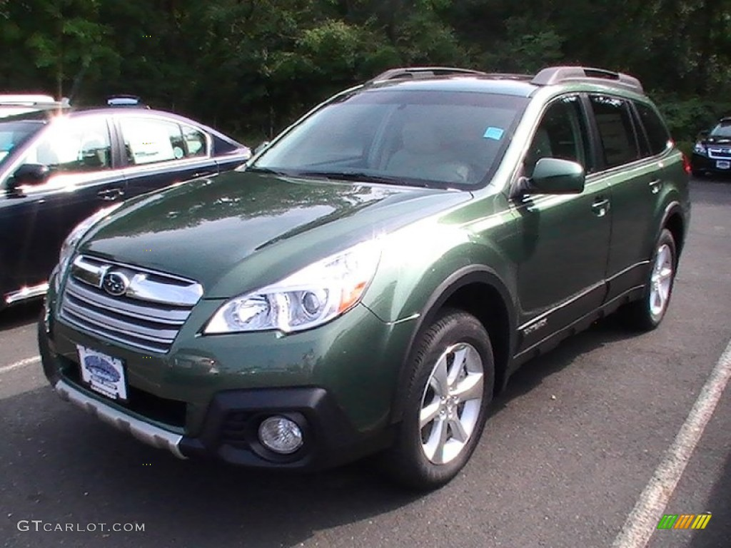 2013 cypress green pearl subaru outback 3.6r limited #69213638