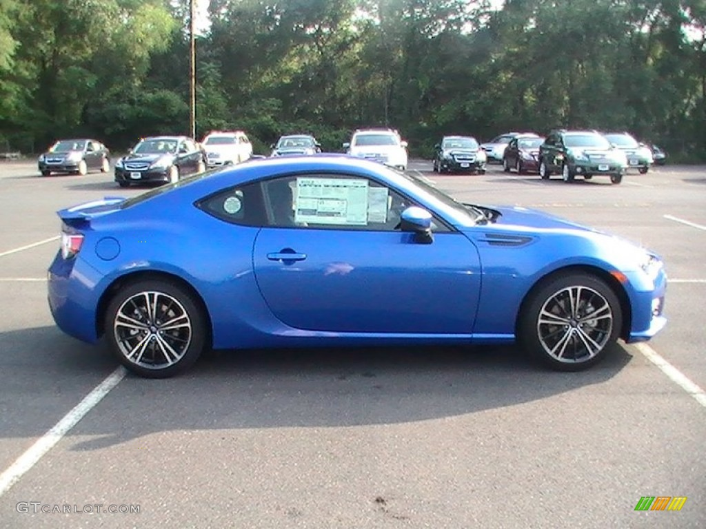 wr blue pearl 2013 subaru brz limited exterior photo 69244374. Black Bedroom Furniture Sets. Home Design Ideas