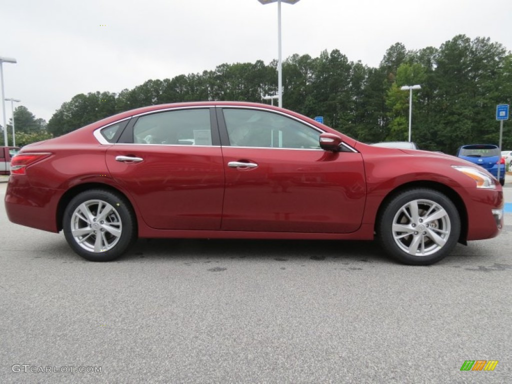 Cayenne Red 2013 Nissan Altima 2 5 Sl Exterior Photo 69248055