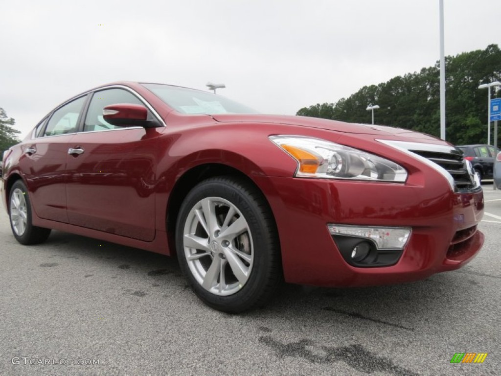 Cayenne Red 2013 Nissan Altima 2 5 Sl Exterior Photo 69248064