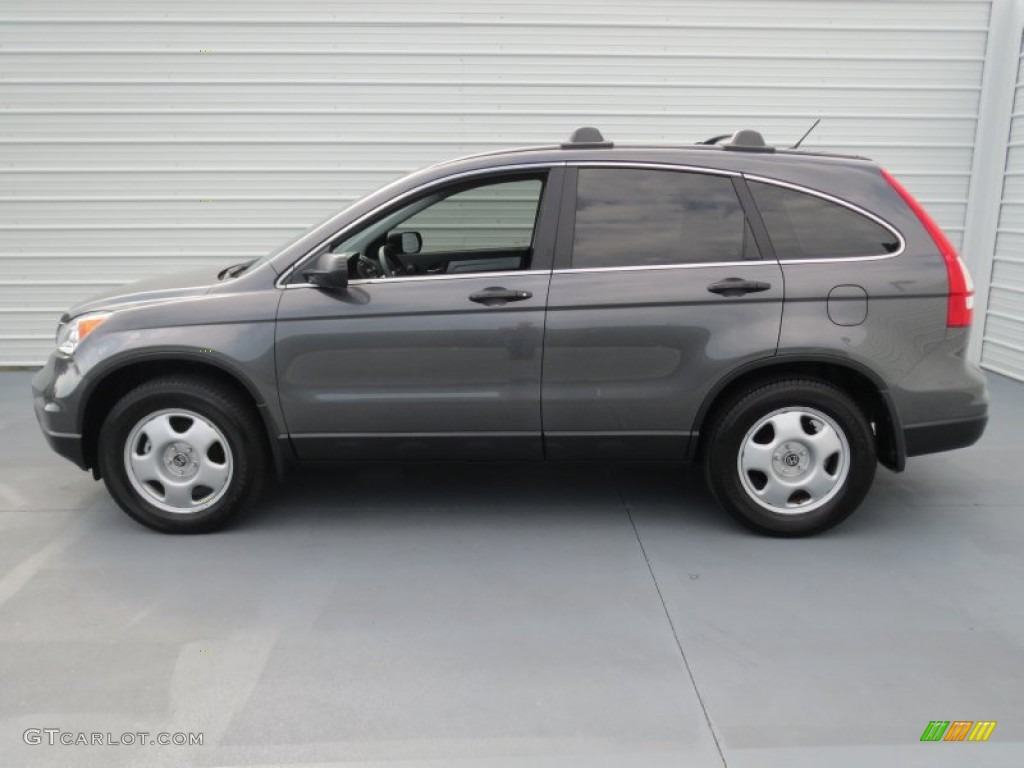 2011 CR-V LX - Polished Metal Metallic / Black photo #5