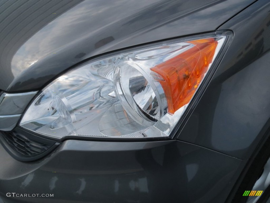 2011 CR-V LX - Polished Metal Metallic / Black photo #8