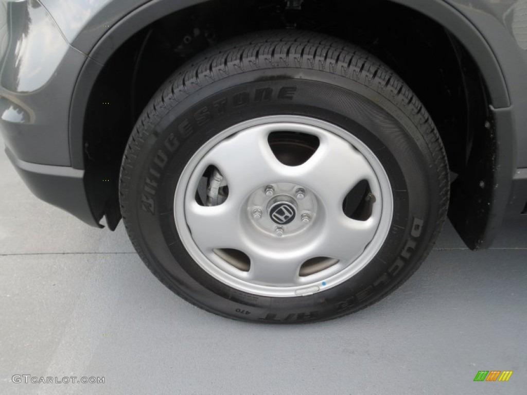 2011 CR-V LX - Polished Metal Metallic / Black photo #9