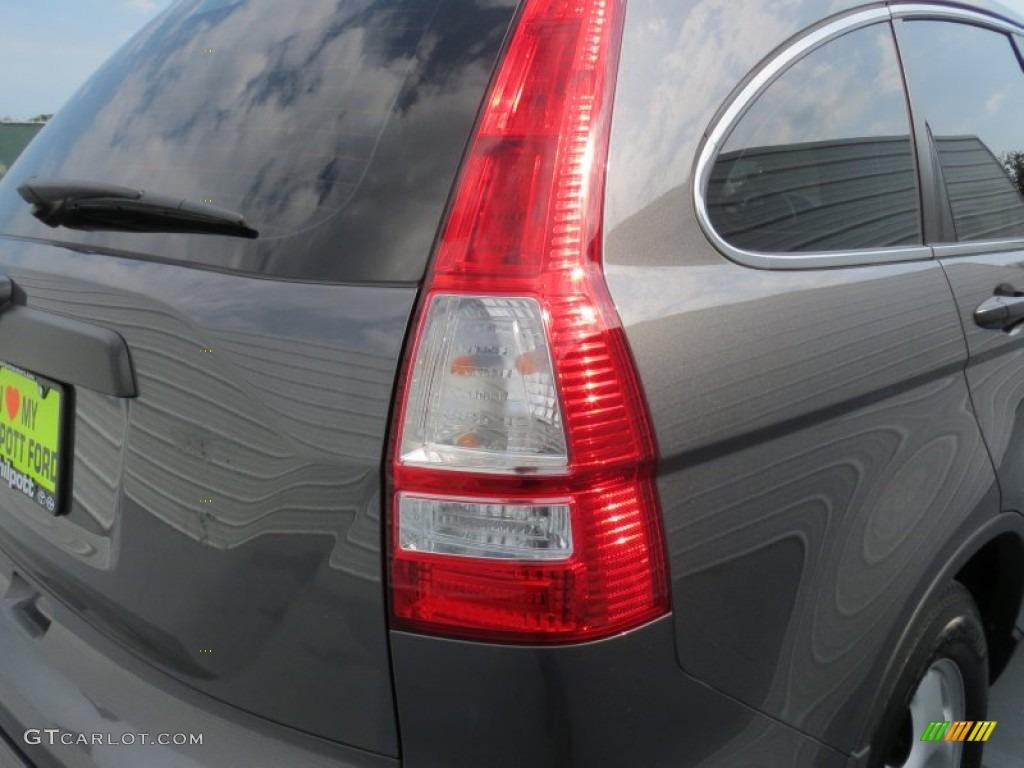 2011 CR-V LX - Polished Metal Metallic / Black photo #14