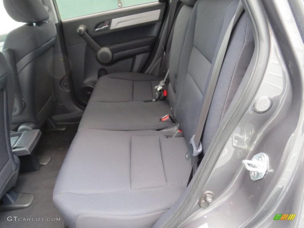 2011 CR-V LX - Polished Metal Metallic / Black photo #25