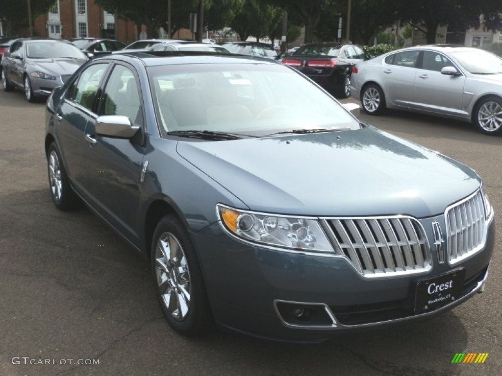 2012 steel blue metallic lincoln mkz awd 69213496 photo 4 car color galleries. Black Bedroom Furniture Sets. Home Design Ideas