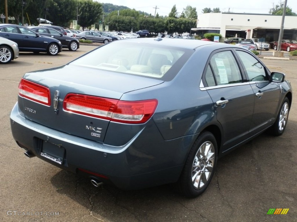 2012 steel blue metallic lincoln mkz awd 69213496 photo 5 car color galleries. Black Bedroom Furniture Sets. Home Design Ideas