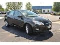 2012 Tuxedo Black Metallic Ford Focus SE Sport 5-Door  photo #3