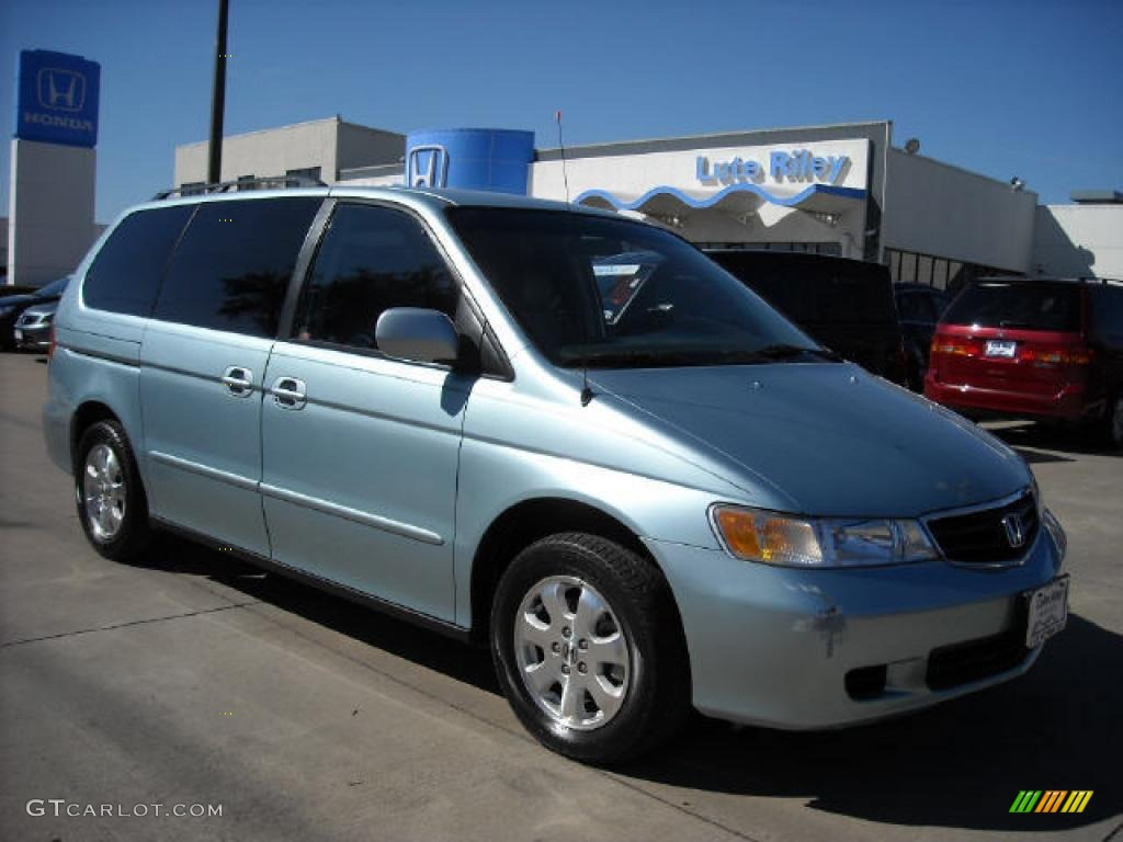 2004 havasu blue metallic honda odyssey ex l 6900534. Black Bedroom Furniture Sets. Home Design Ideas