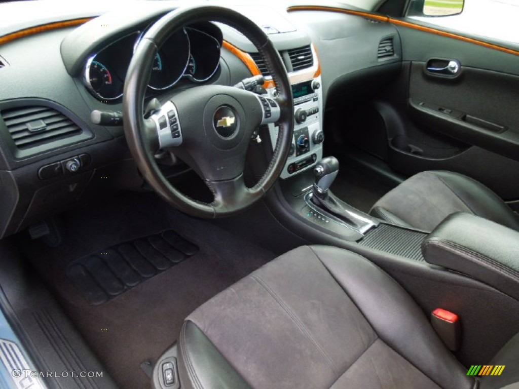 Ebony Interior 2009 Chevrolet Malibu LT Sedan Photo #69278889 ...