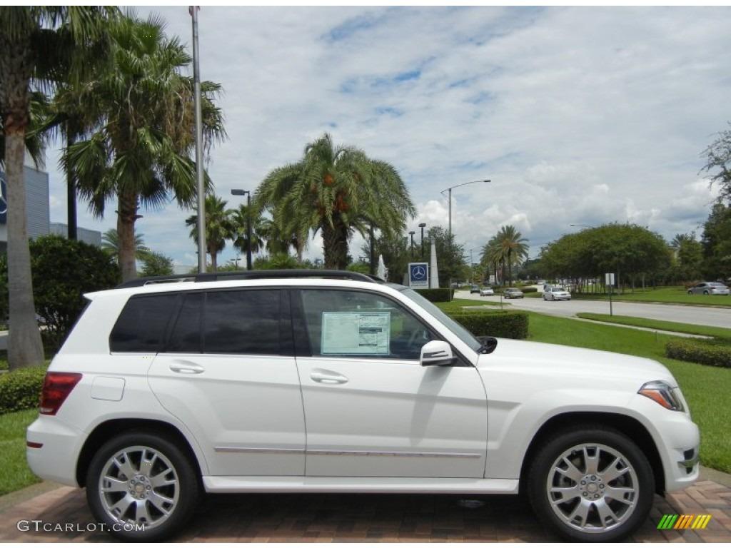 2013 polar white mercedes benz glk 350 69275047 for Mercedes benz polar white paint