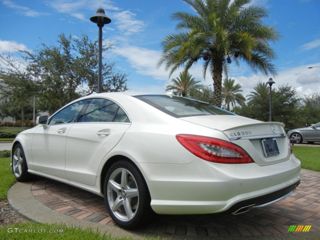 Diamond white metallic 2013 mercedes benz cls 550 coupe for Mercedes benz 550s