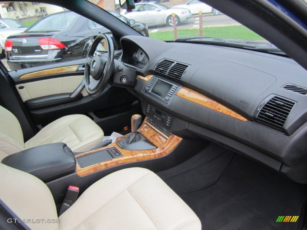 2006 Bmw X5 4 8is Cream Beige Dashboard Photo 69284502