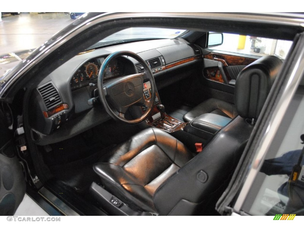 Black interior 1993 mercedes benz s class 600 sec coupe for 1993 mercedes benz 500 class