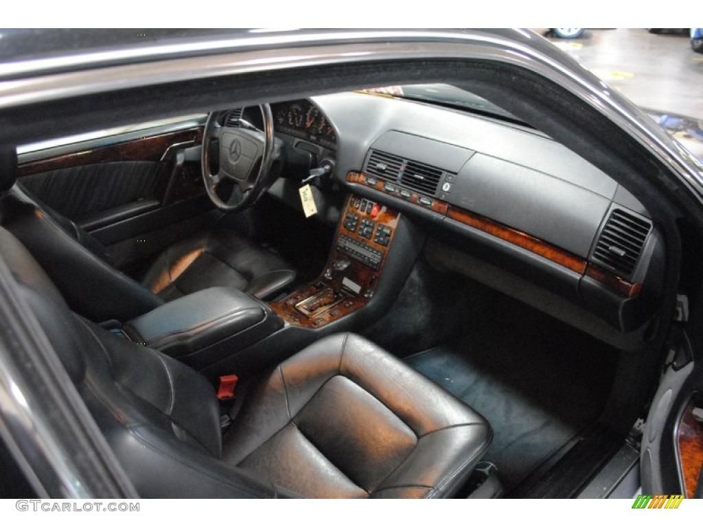 1993 mercedes benz s class 600 sec coupe interior color for Mercedes benz interior parts online