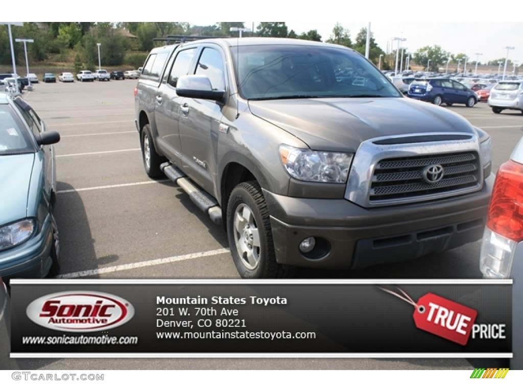 2009 Tundra Limited CrewMax 4x4 - Pyrite Tan Mica / Sand photo #1