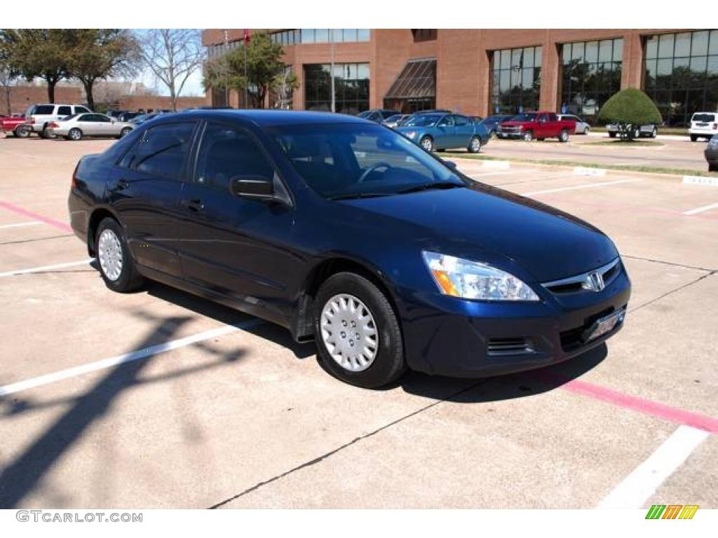 2006 Royal Blue Pearl Honda Accord Value Package Sedan 6900613