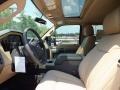 2012 Autumn Red Metallic Ford F250 Super Duty Lariat Crew Cab 4x4  photo #3