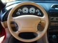 1995 Ford Mustang Saddle Interior Steering Wheel Photo