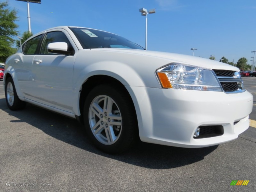 new bright white 2013 dodge avenger sxt exterior photo. Black Bedroom Furniture Sets. Home Design Ideas