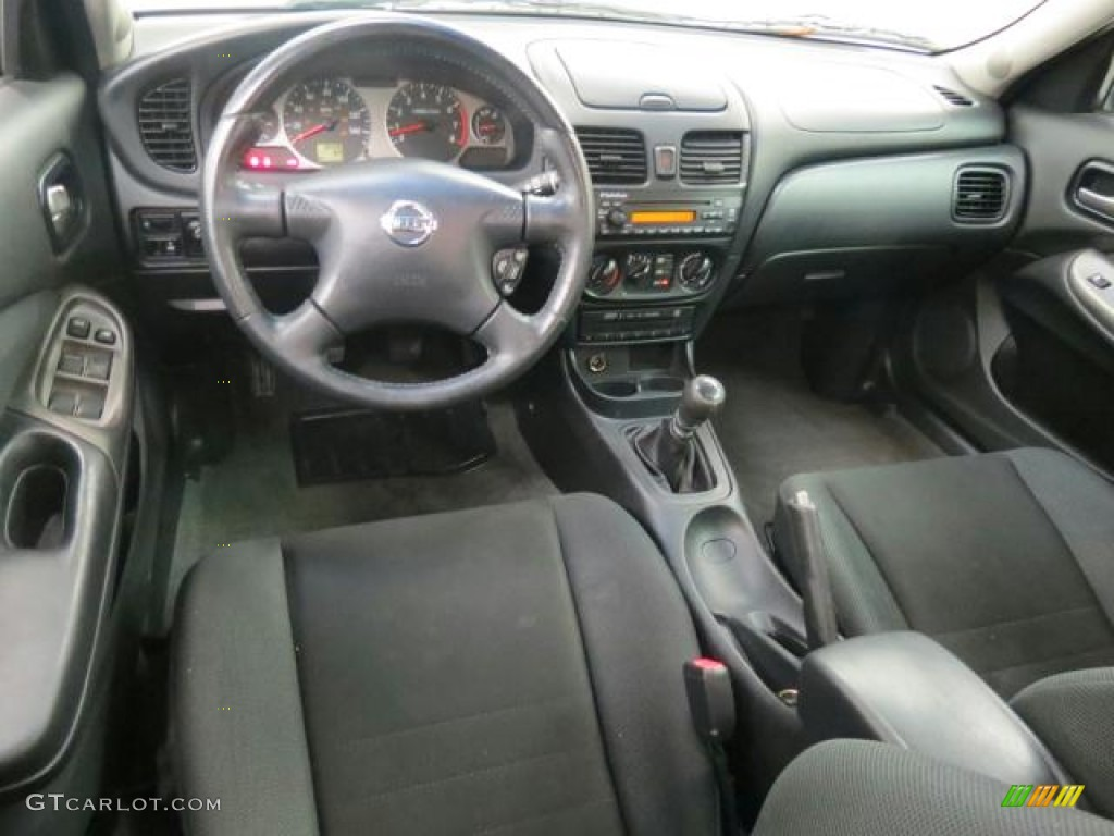 Charcoal Interior 2006 Nissan Sentra Se R Spec V Photo