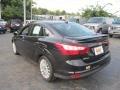 2012 Tuxedo Black Metallic Ford Focus Titanium Sedan  photo #3