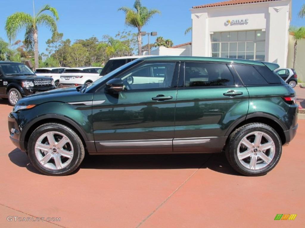 Kosrae Green Metallic 2012 Land Rover Range Rover Evoque Pure Exterior Photo 69326052