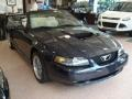 2001 True Blue Metallic Ford Mustang GT Convertible  photo #2