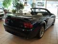 2001 True Blue Metallic Ford Mustang GT Convertible  photo #8