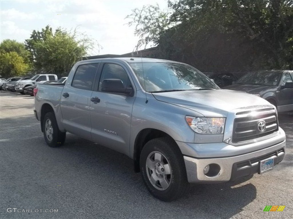 2011 Tundra TRD CrewMax - Silver Sky Metallic / Graphite Gray photo #1