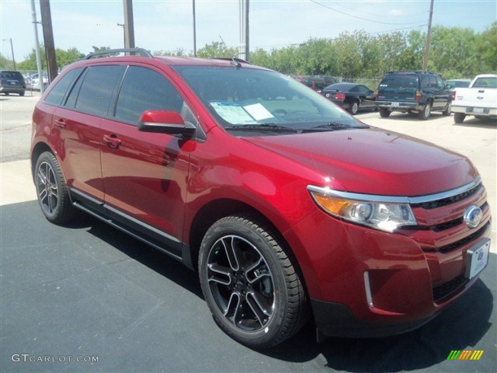 ruby red 2013 ford edge sel ecoboost exterior photo 69359014. Black Bedroom Furniture Sets. Home Design Ideas
