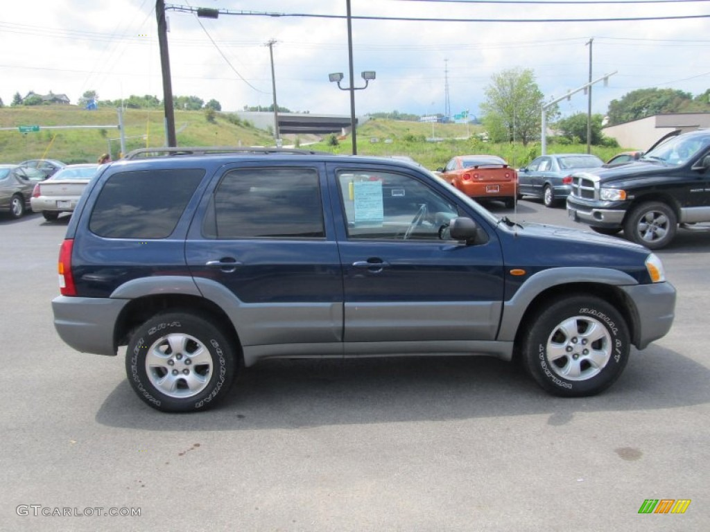 2002 calypso blue metallic mazda tribute es v6 4wd. Black Bedroom Furniture Sets. Home Design Ideas