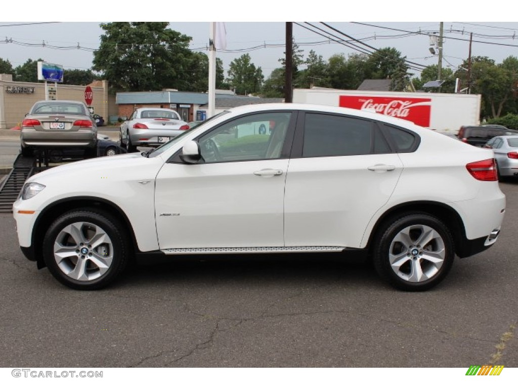 Alpine White 2009 Bmw X6 Xdrive35i Exterior Photo