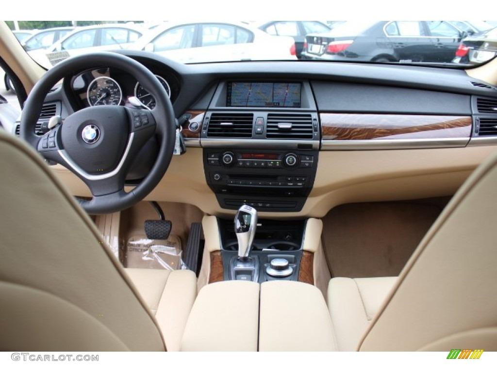 2009 Bmw X6 Xdrive35i Sand Beige Nevada Leather Dashboard