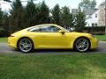 Racing Yellow - New 911 Carrera S Coupe Photo No. 7
