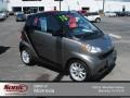 Gray Metallic 2010 Smart fortwo passion cabriolet