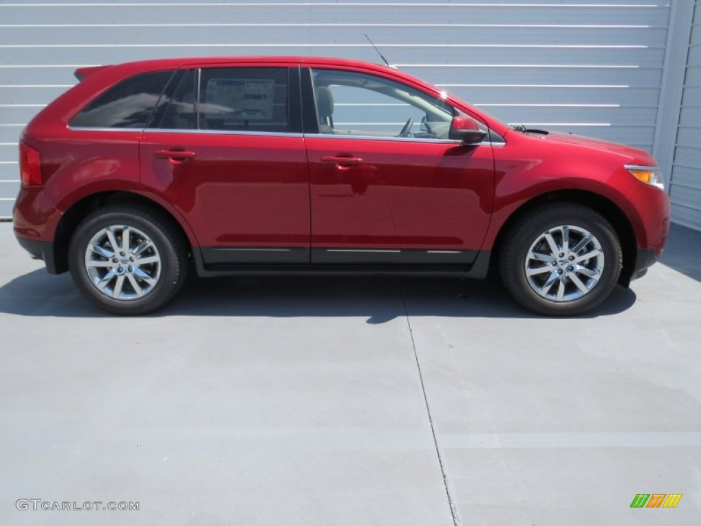 ruby red 2013 ford edge limited ecoboost exterior photo 69369466. Black Bedroom Furniture Sets. Home Design Ideas