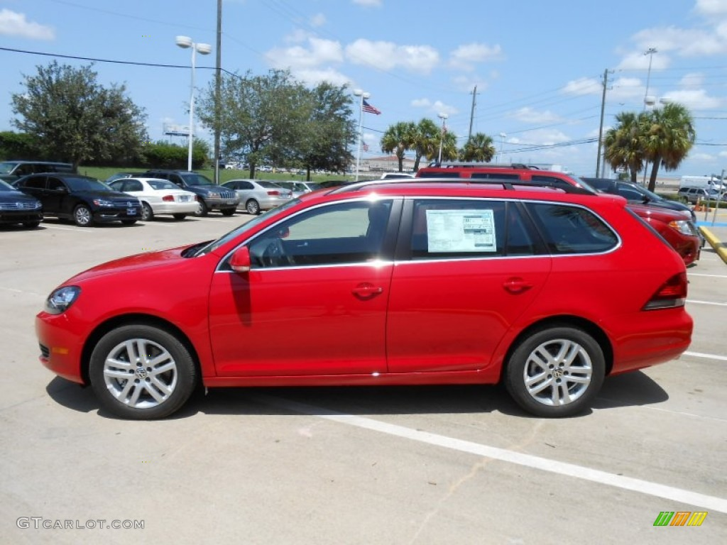 tornado red 2013 volkswagen jetta tdi sportwagen exterior. Black Bedroom Furniture Sets. Home Design Ideas