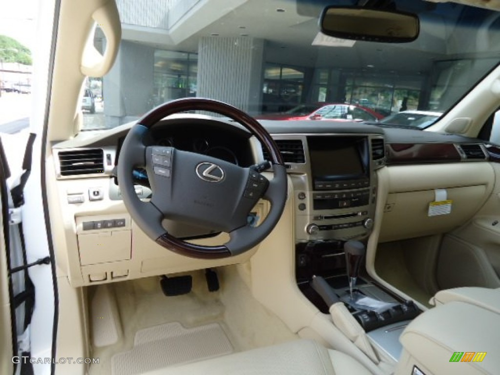 Lexus 2013 lexus lx : Parchment/Mahogany Accents Interior 2013 Lexus LX 570 Photo ...