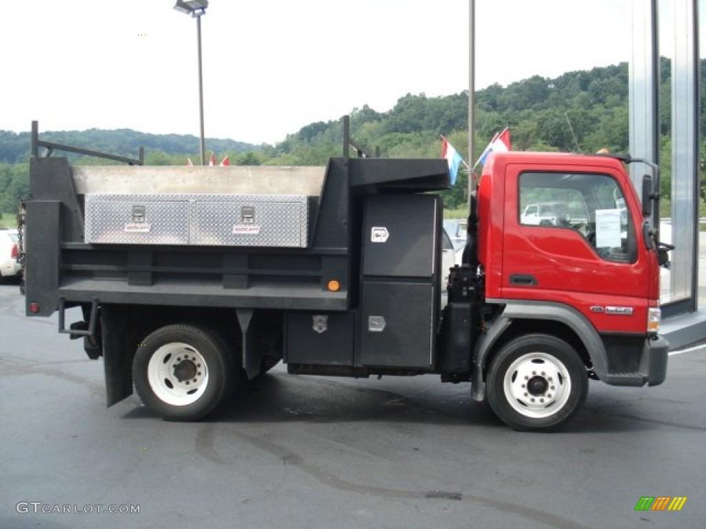 06 Ford Lcf Wiring Diagram 4 5l Engine 2006 Bright Red Truck 55 Dump 69351336 Photo 5 Rh Gtcarlot Com Way Switch