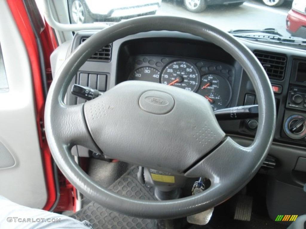 2006 ford lcf truck lcf 55 dump truck steering wheel photos