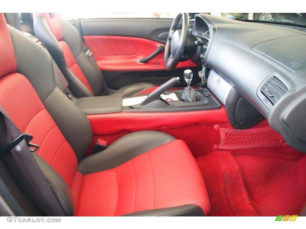 Red Interior 2004 Honda S2000 Roadster Photo 69386464