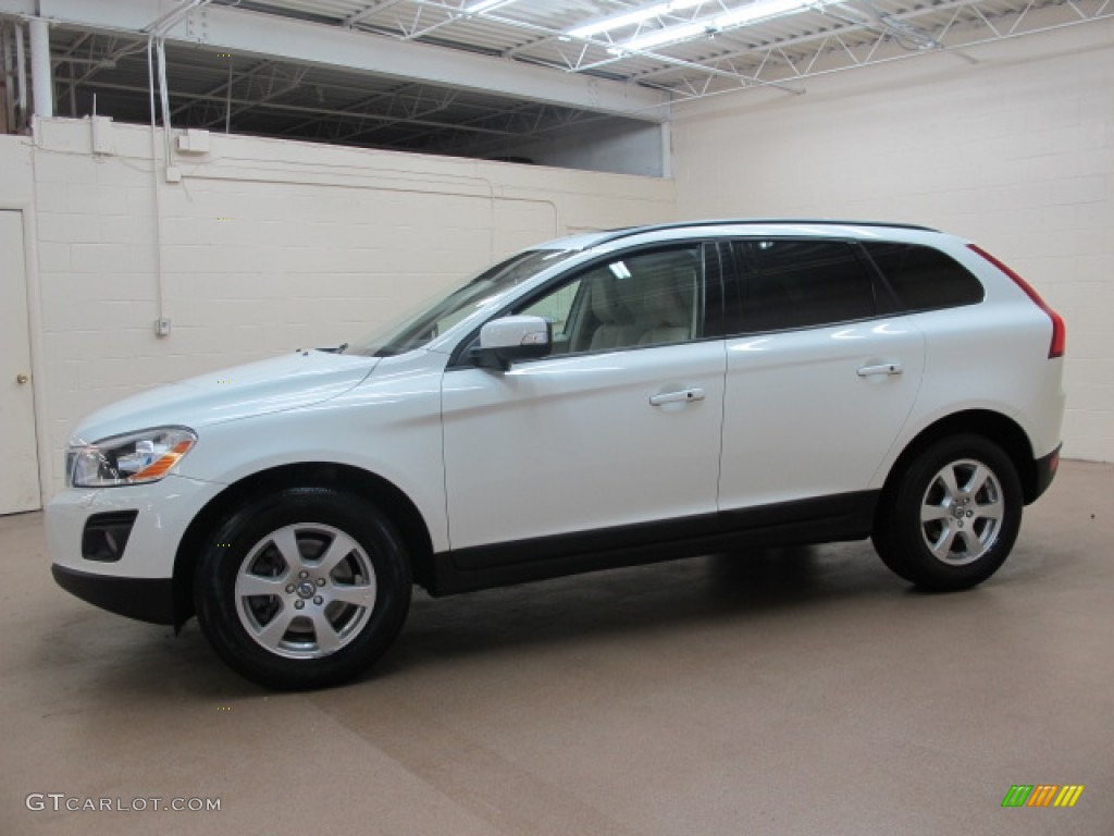 Ice White 2010 Volvo Xc60 3 2 Awd Exterior Photo 69387553