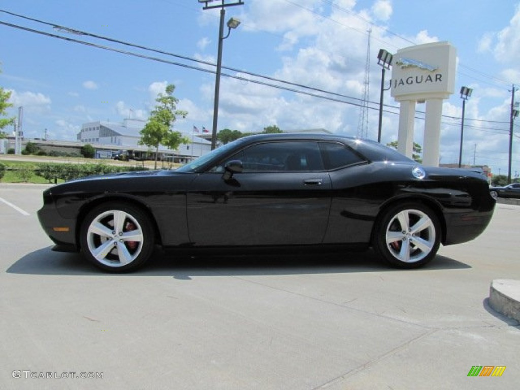Brilliant black crystal pearl coat 2009 dodge challenger srt8 exterior photo 69390364