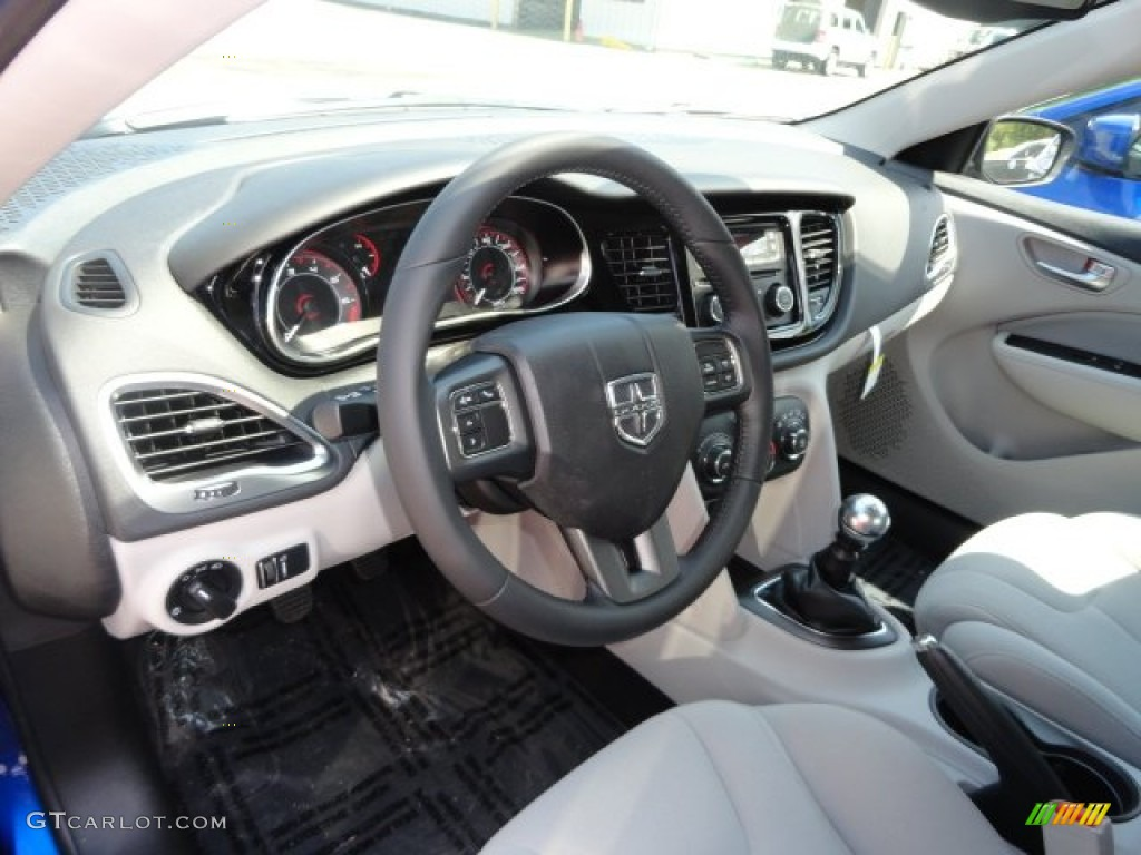 Black Light Diesel Gray Interior 2013 Dodge Dart Sxt Photo 69394931