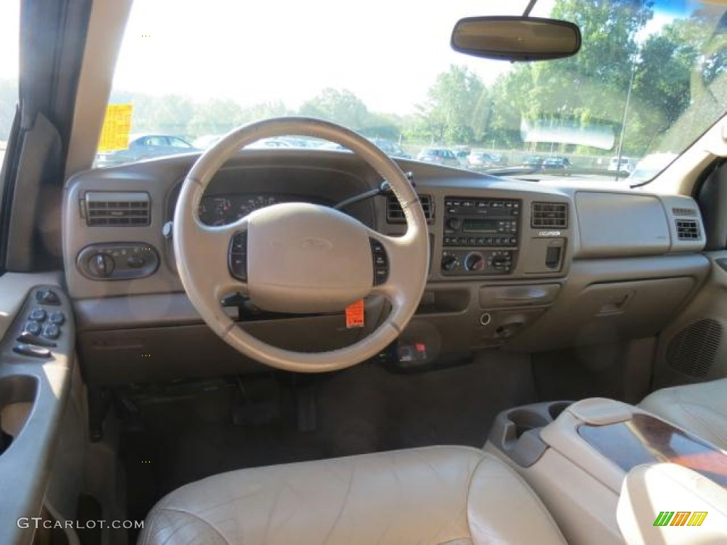 2001 Ford F350 Diesel Medium Parchment Interior 2001 Ford Excursion Limited 4x4 ...