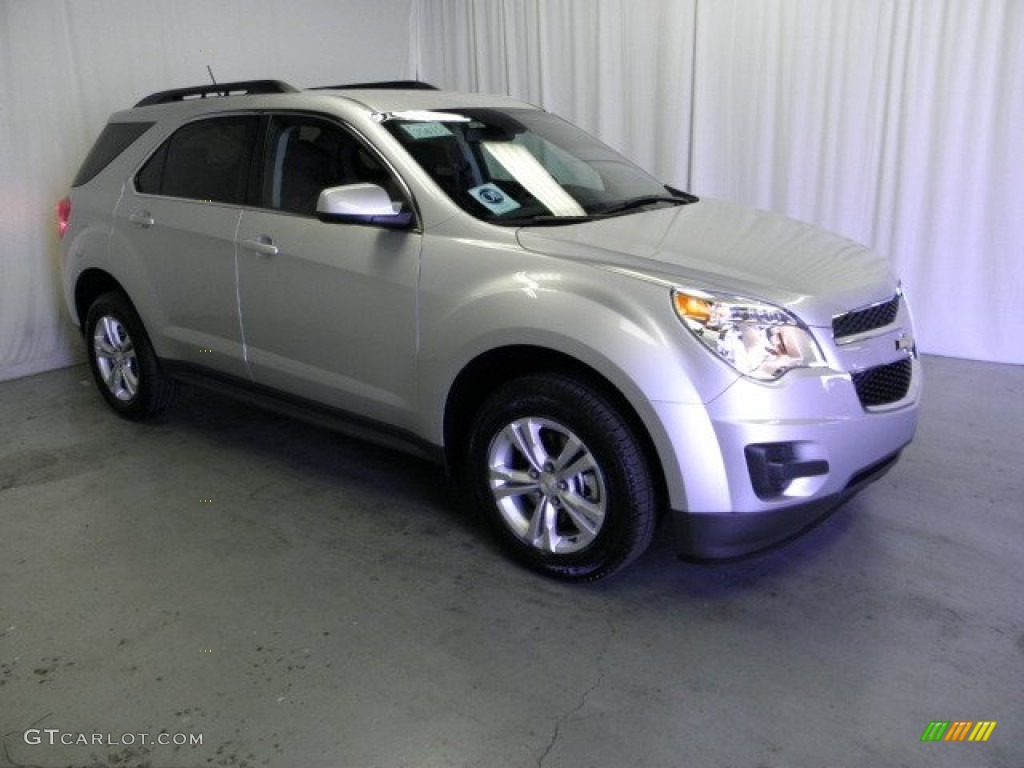 Silver Ice Metallic 2013 Chevrolet Equinox LT Exterior Photo #69402190 ...